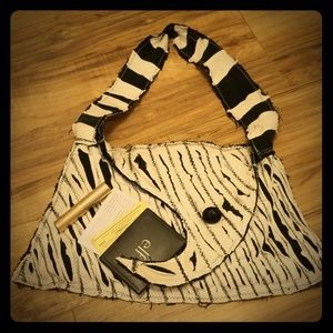 Handmade Tim Burton Shoulder Bag/Mini Purse